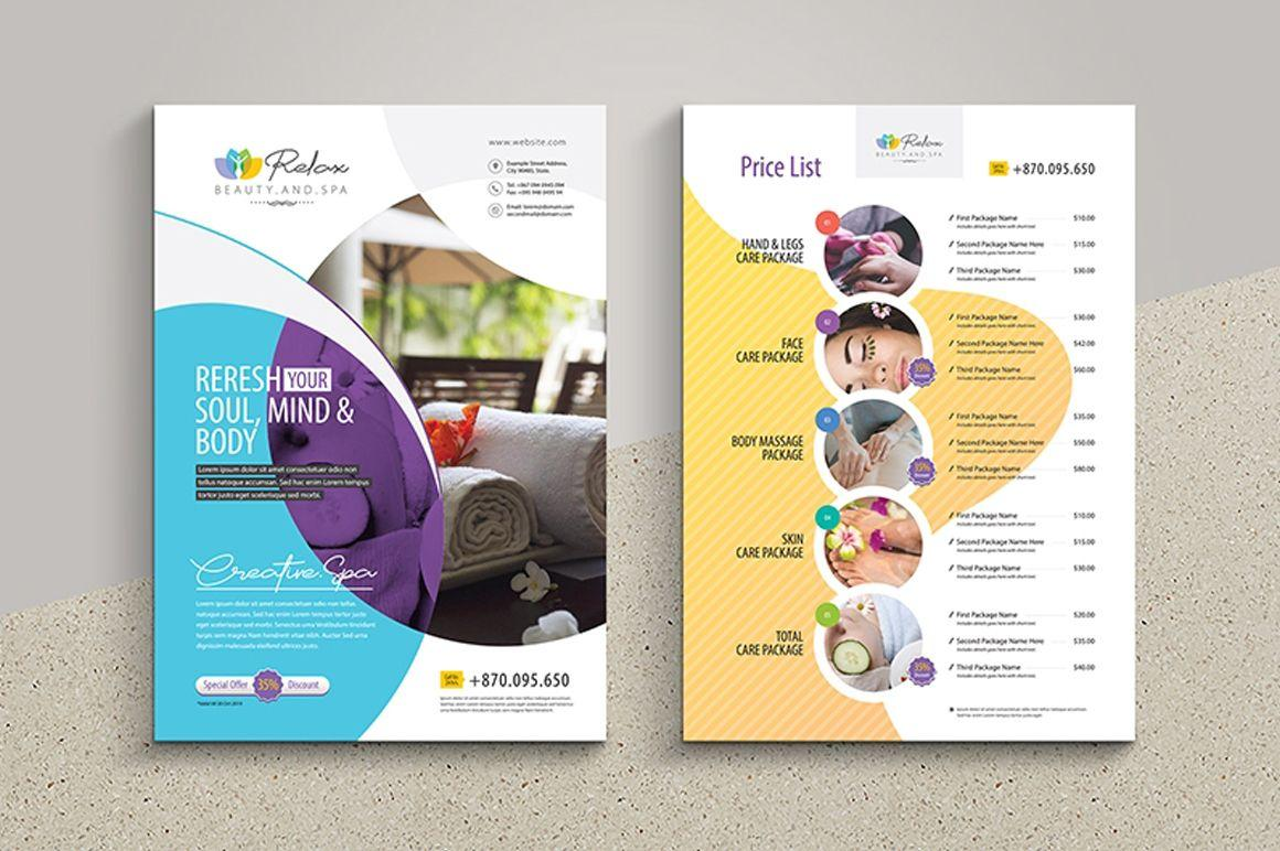 Free Beauty Spa Flyer Templates