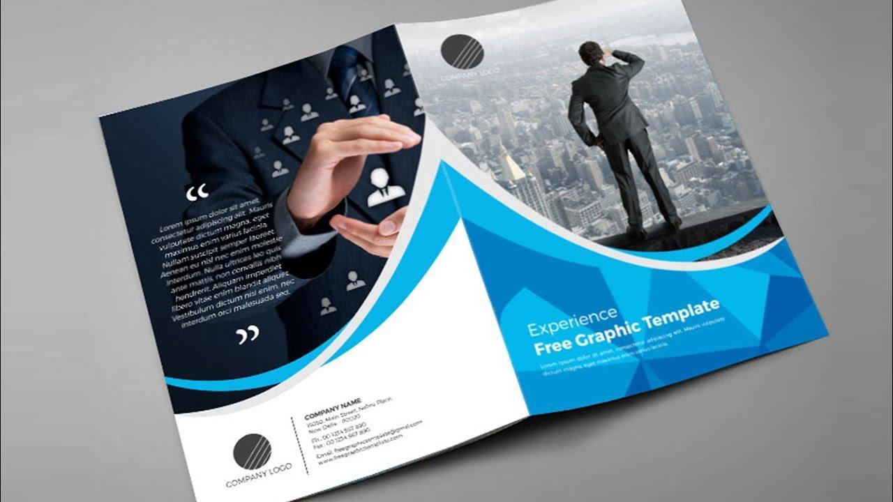 Free Bi Fold Brochure Template Indesign