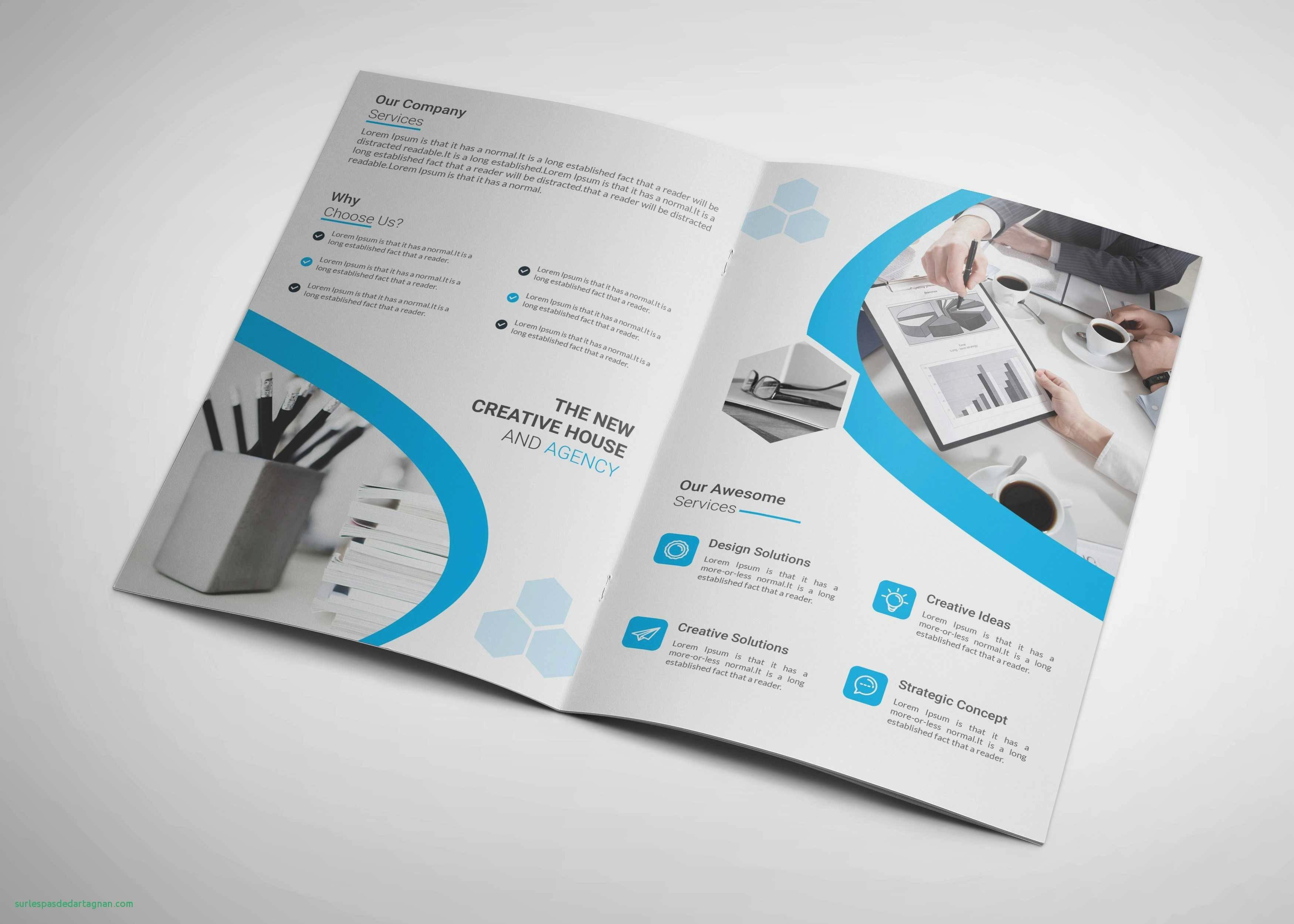 Free Bi Fold Brochure Template Photoshop