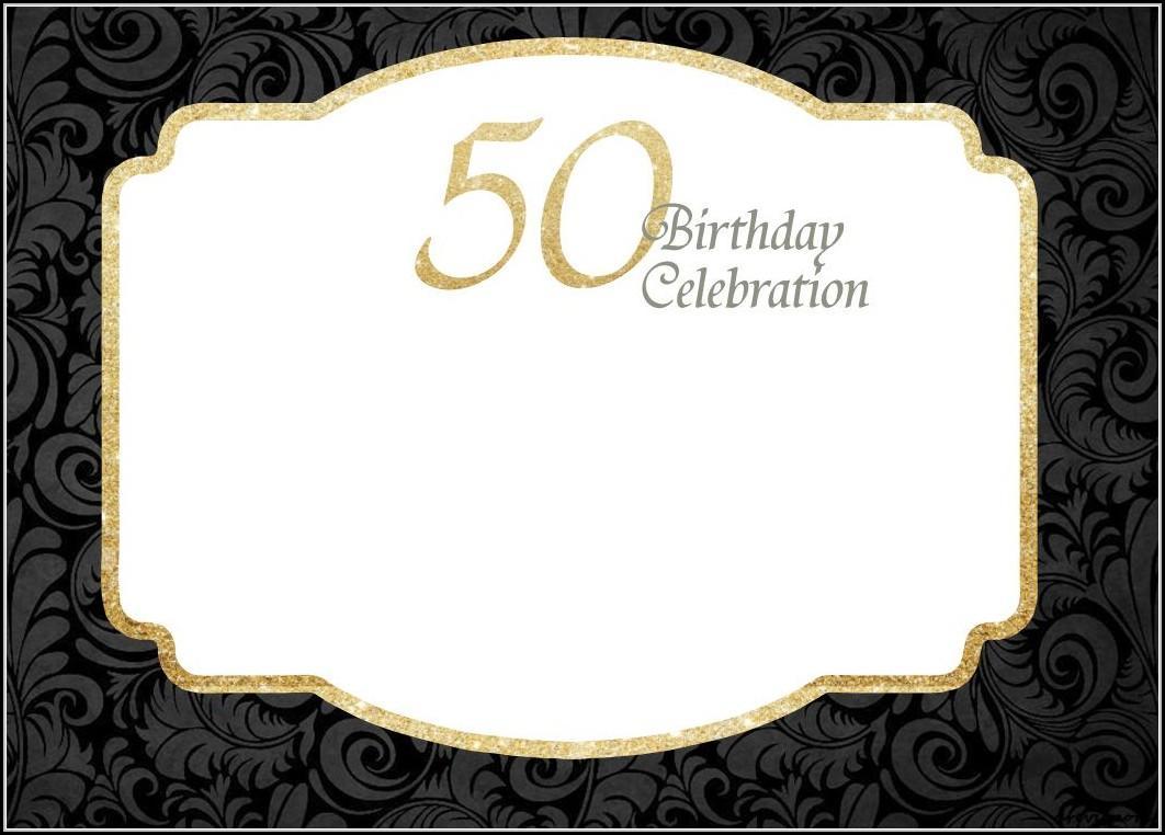 Free Birthday Invitation Template Printable