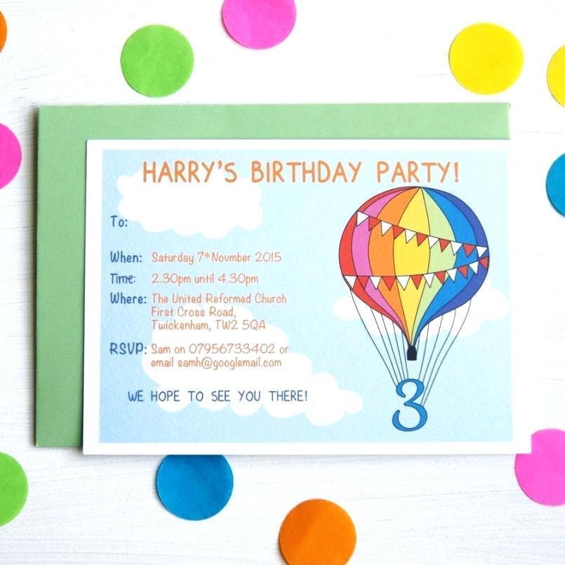 Free Birthday Invitation Templates To Print At Home