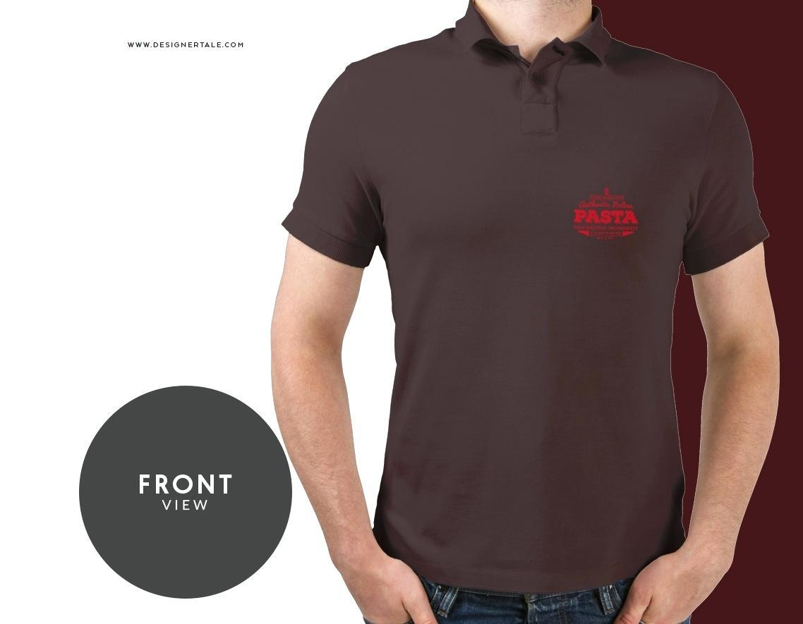 Free Black Polo Shirt Template