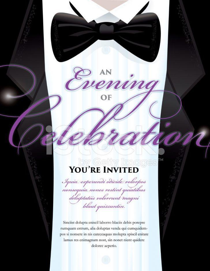 Free Black Tie Event Invitation Template