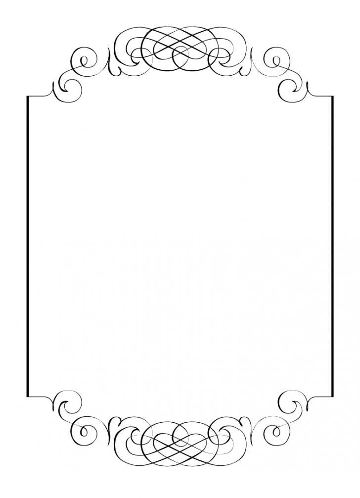Free Blank 4×6 Invitation Template