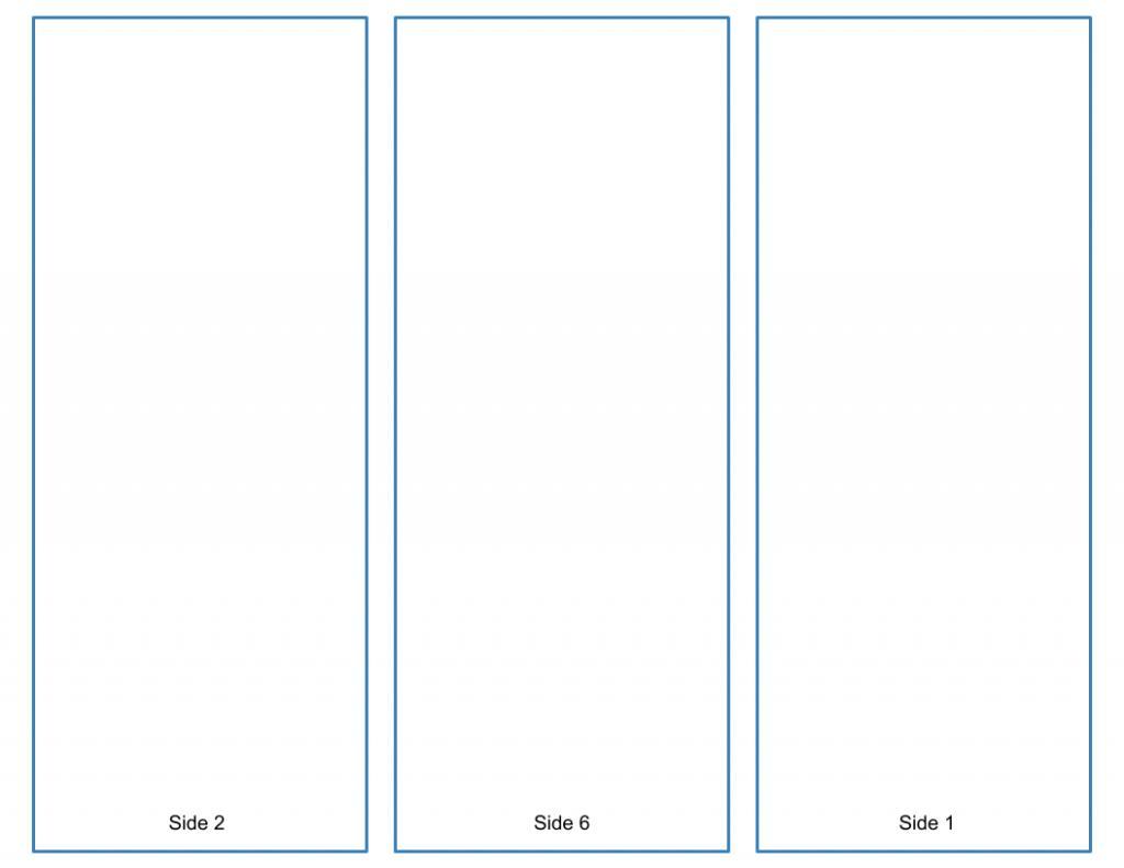 Free Blank Brochure Templates Tri Folds