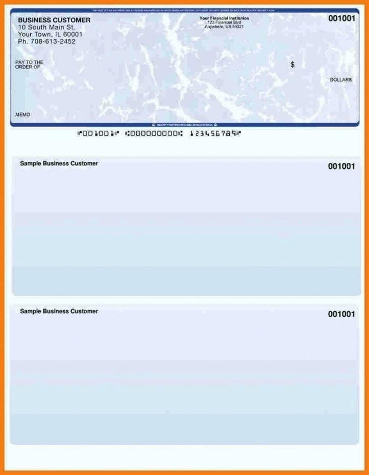Free Blank Check Template For Excel