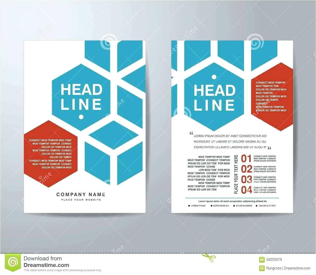 Free Blank Tri Fold Brochure Template Word