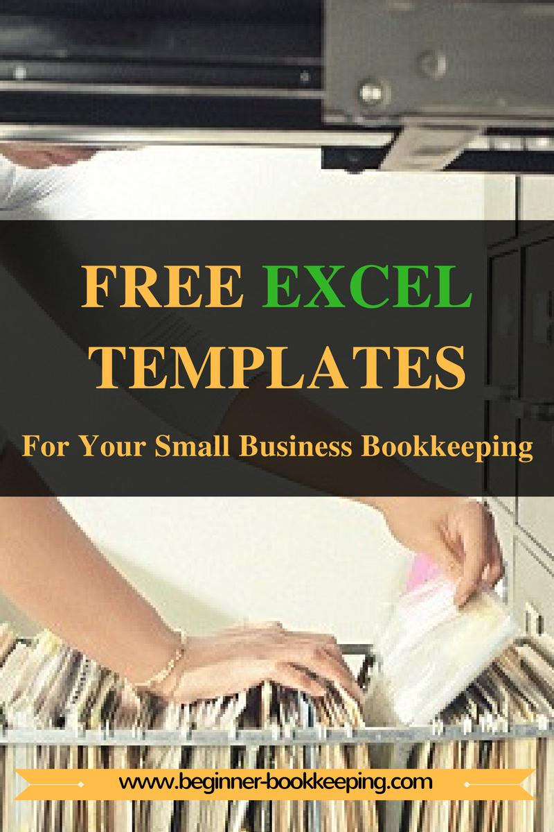 Free Bookkeeping Templates For Small Business Uk