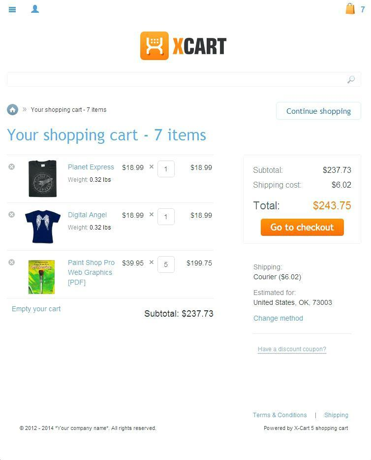 Free Bootstrap Shopping Cart Templates