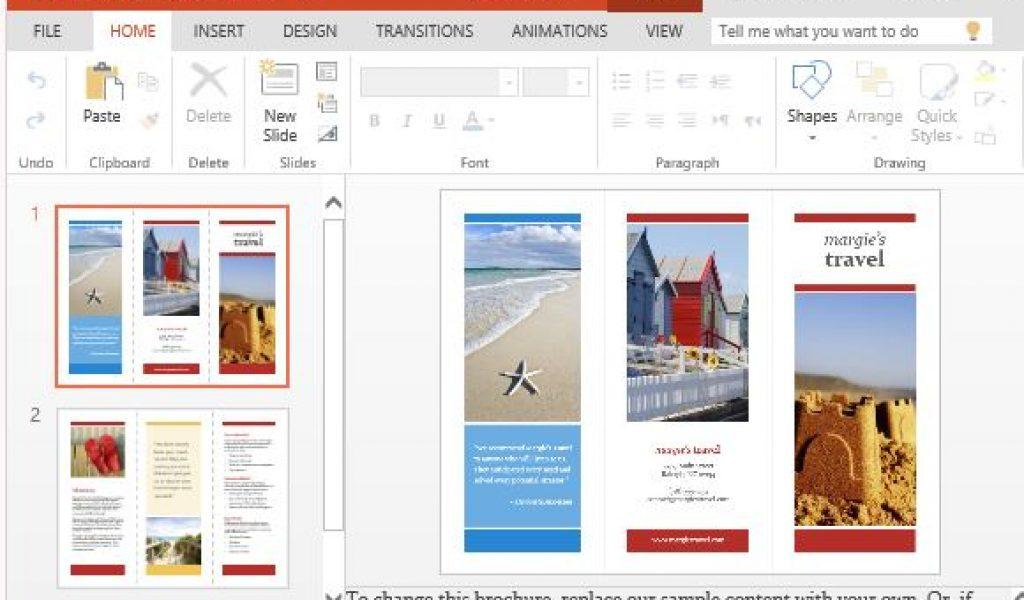 Free Brochure Templates For Powerpoint