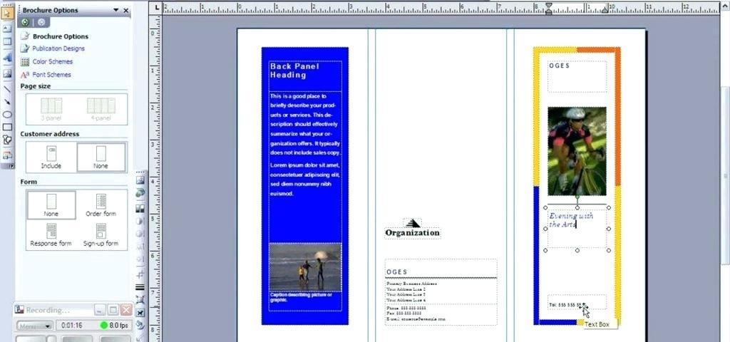 Free Brochure Templates For Publisher 2010