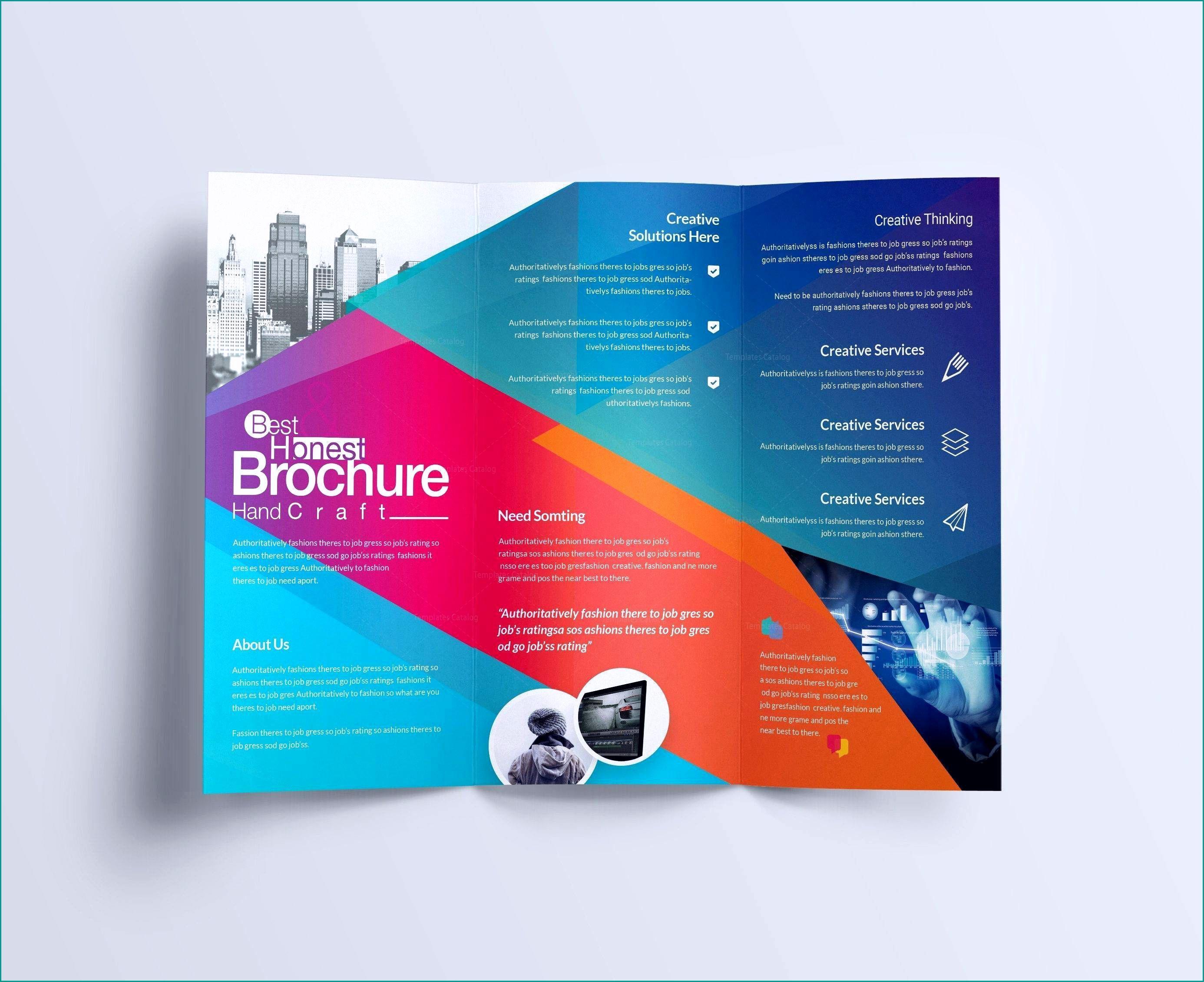 Free Brochure Templates For Teachers