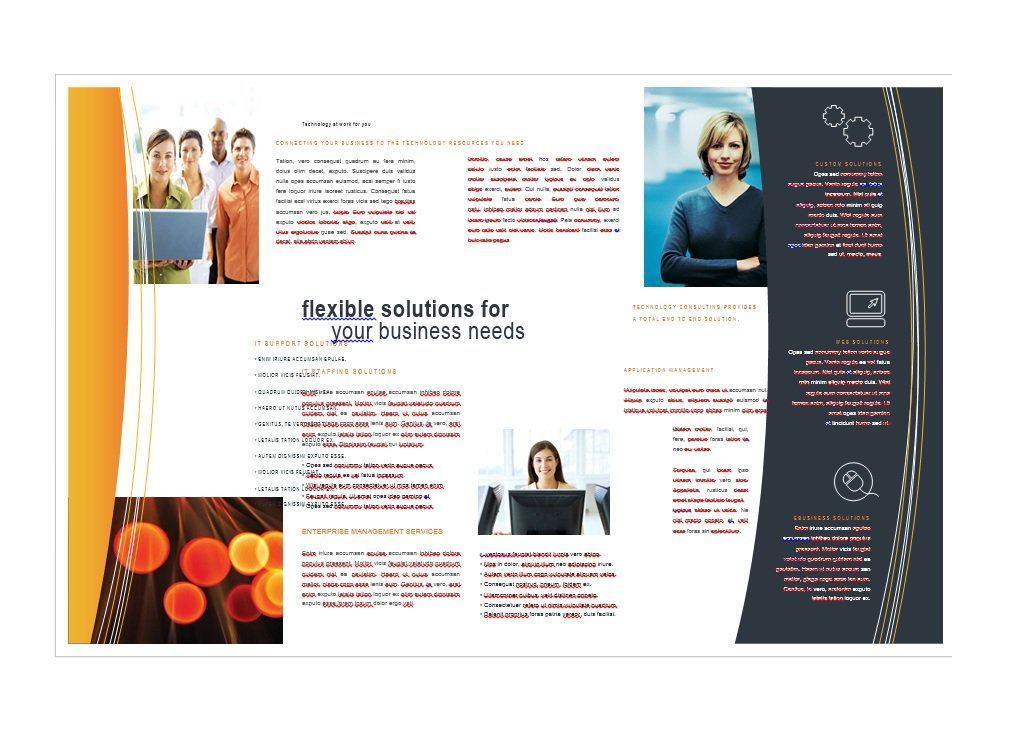 Free Brochure Templates For Word To Download