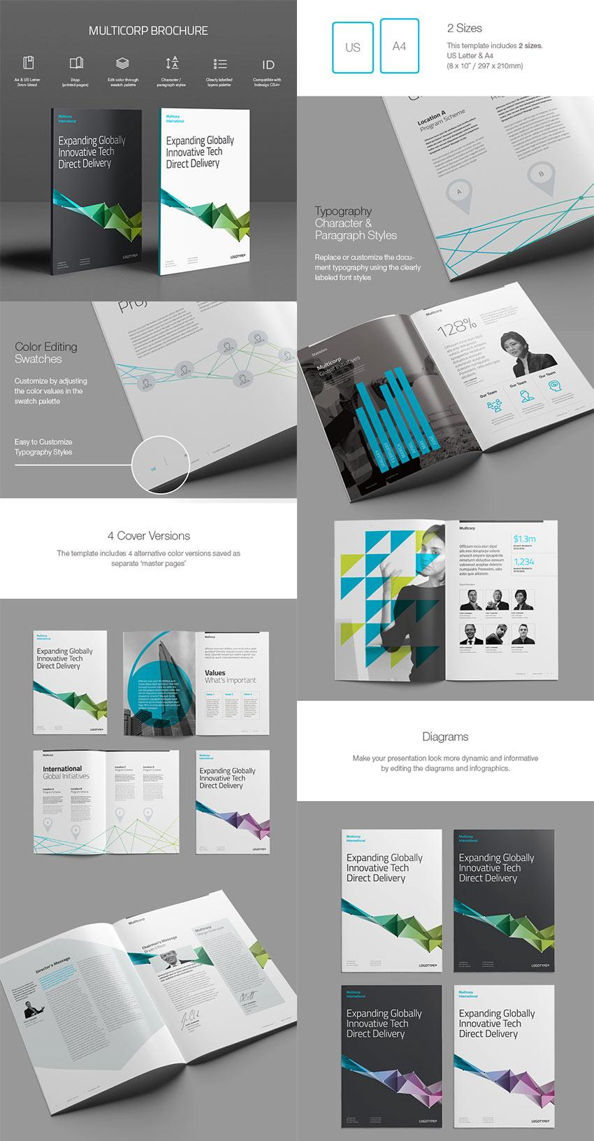 Free Brochure Templates Indesign