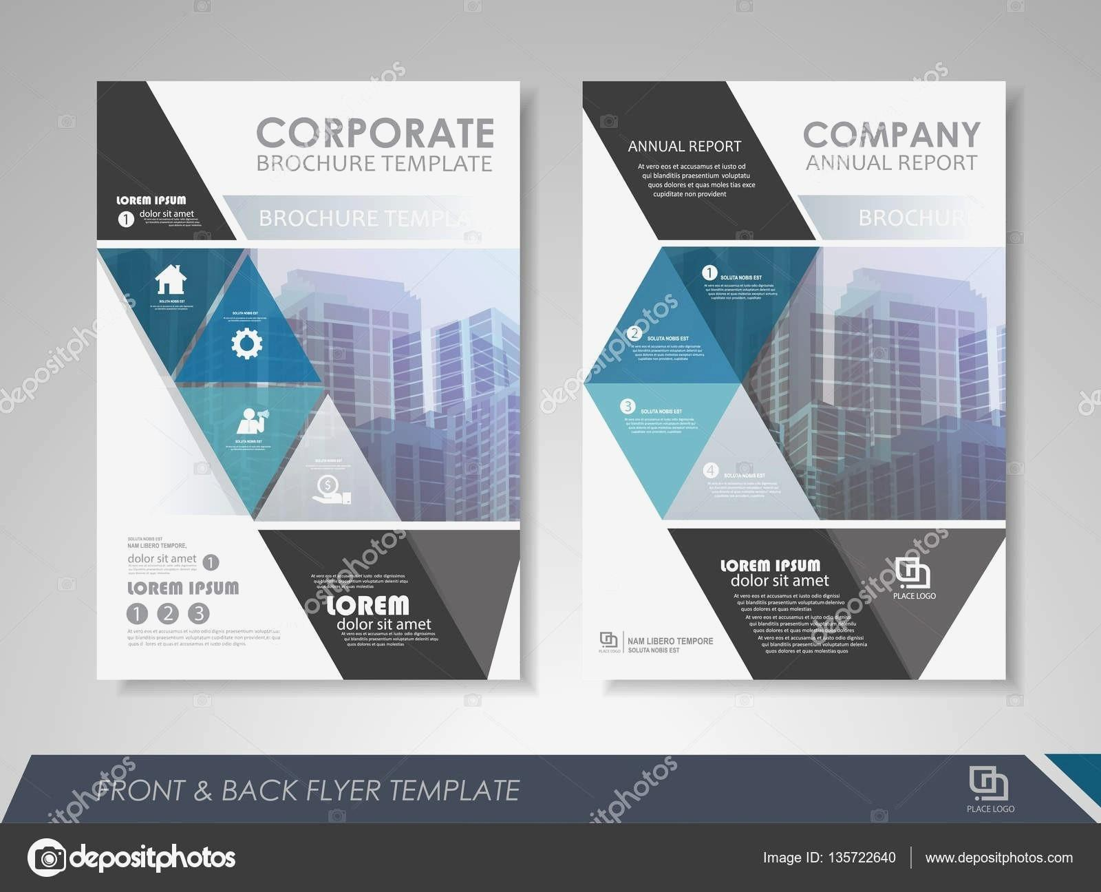 Free Brochure Templates Photoshop