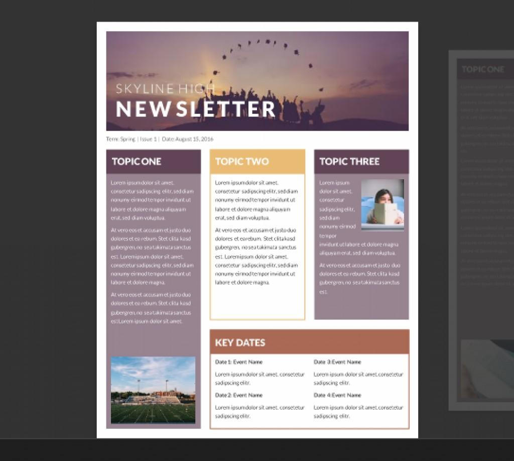 Free Business Newsletter Templates For Word
