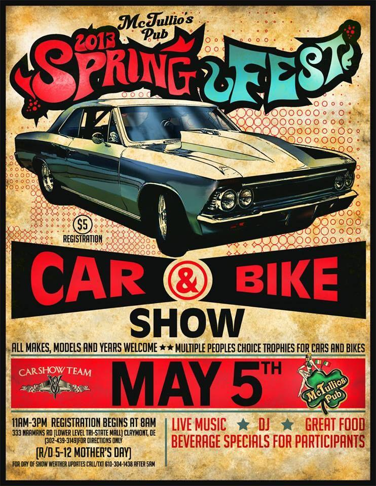 Free Car And Bike Show Flyer Template