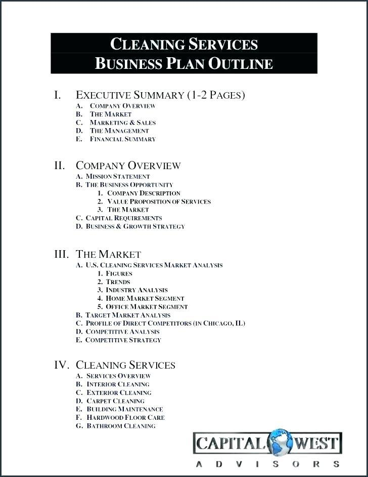 Free Carpet Cleaning Business Plan Template