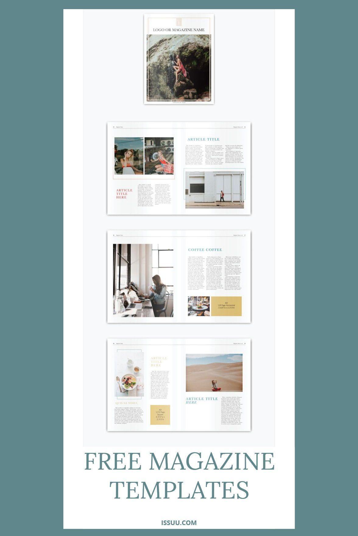 Free Catalogue Templates