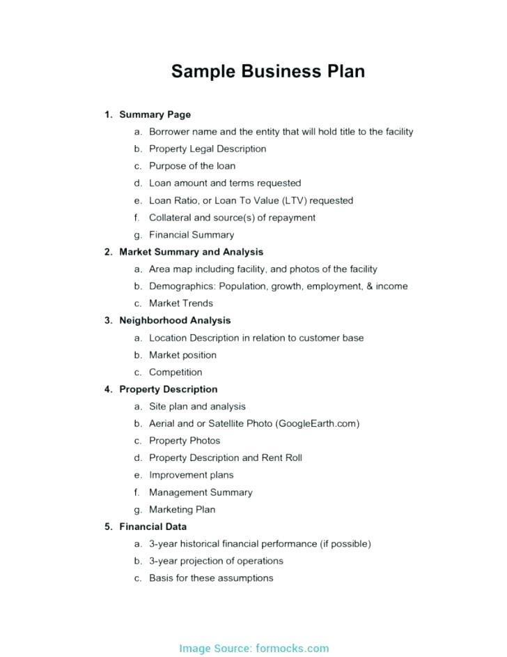 Free Catering Business Plan Template