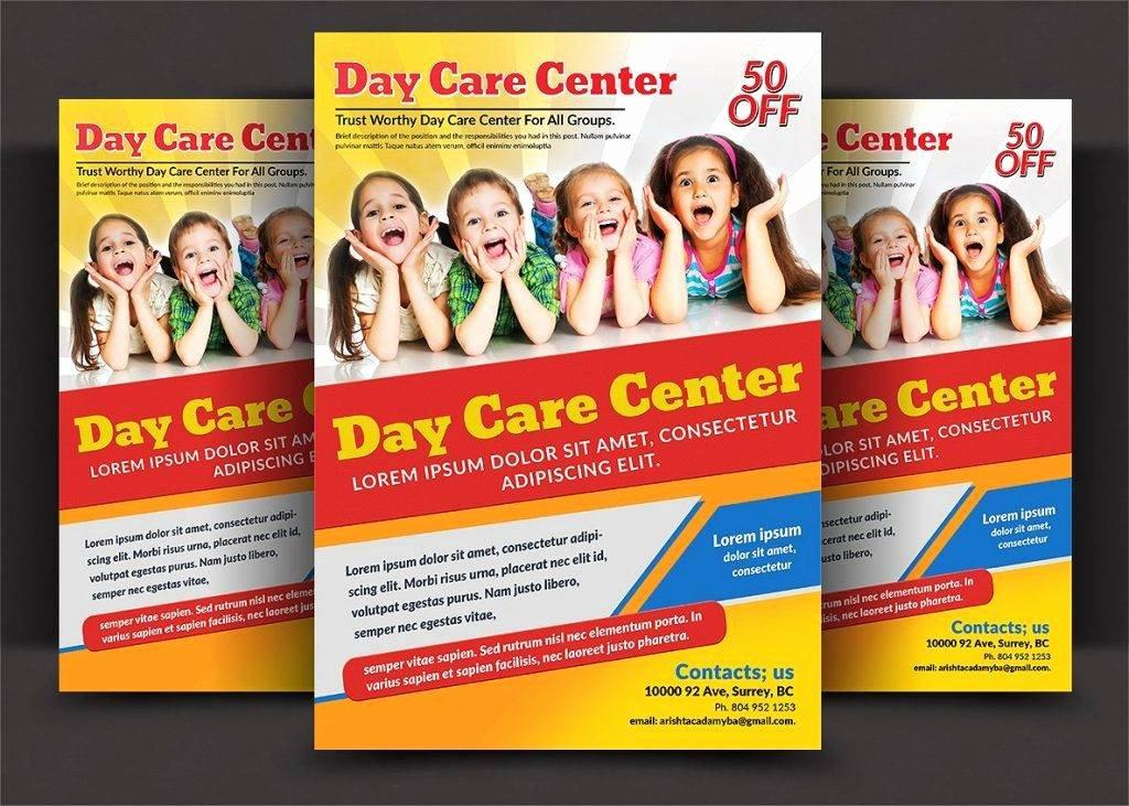 Free Child Care Flyer Templates For Download