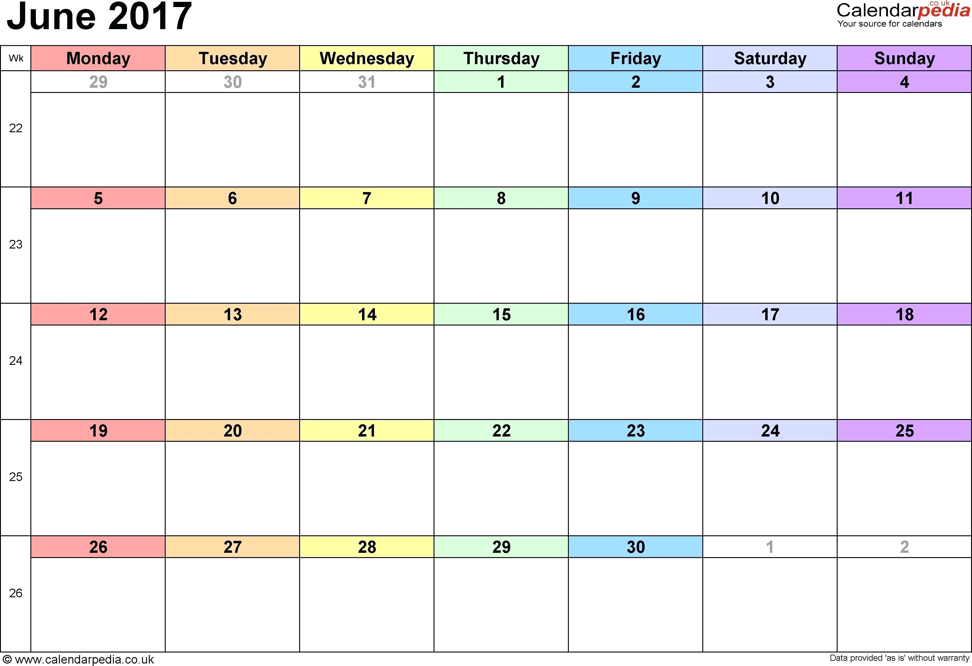 Free Child Custody Calendar Template