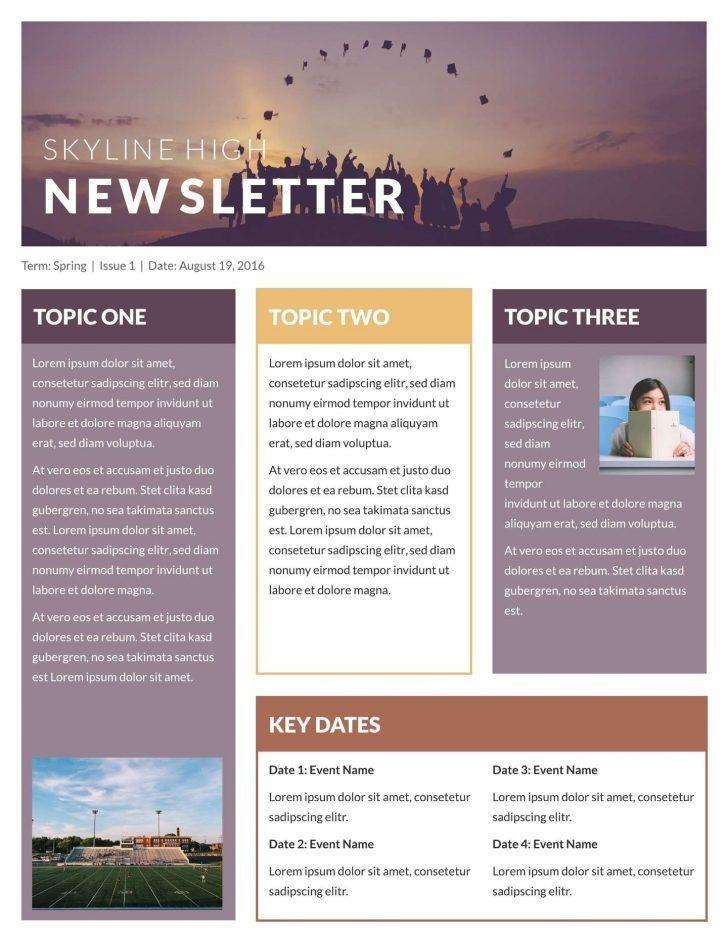 Free Christian Newsletter Templates For Microsoft Word