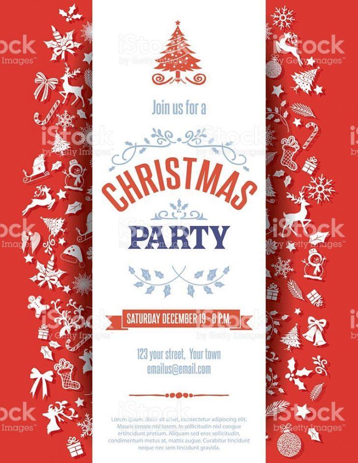 Free Christmas Dinner Invitation Templates