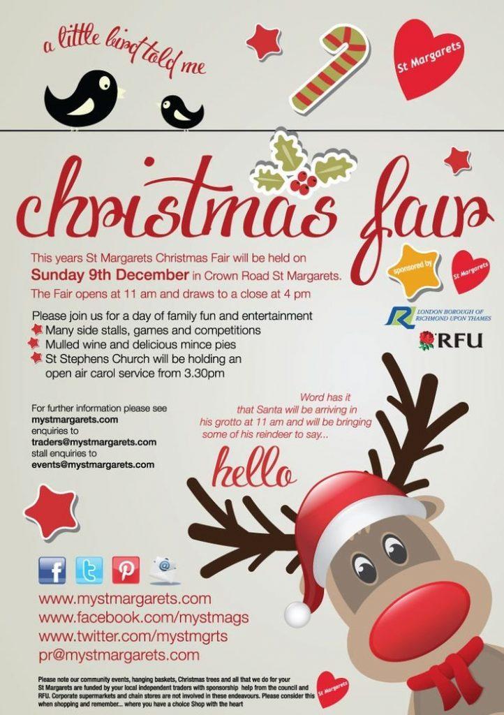 Free Christmas Raffle Flyer Template