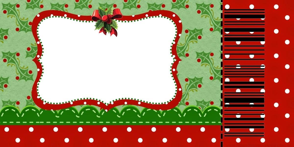 Free Christmas Ticket Template
