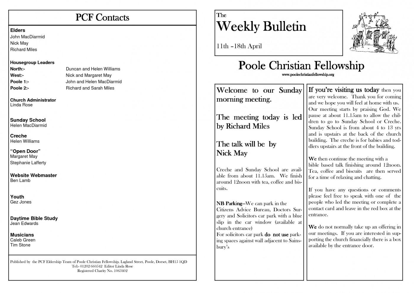 Free Church Christmas Program Templates