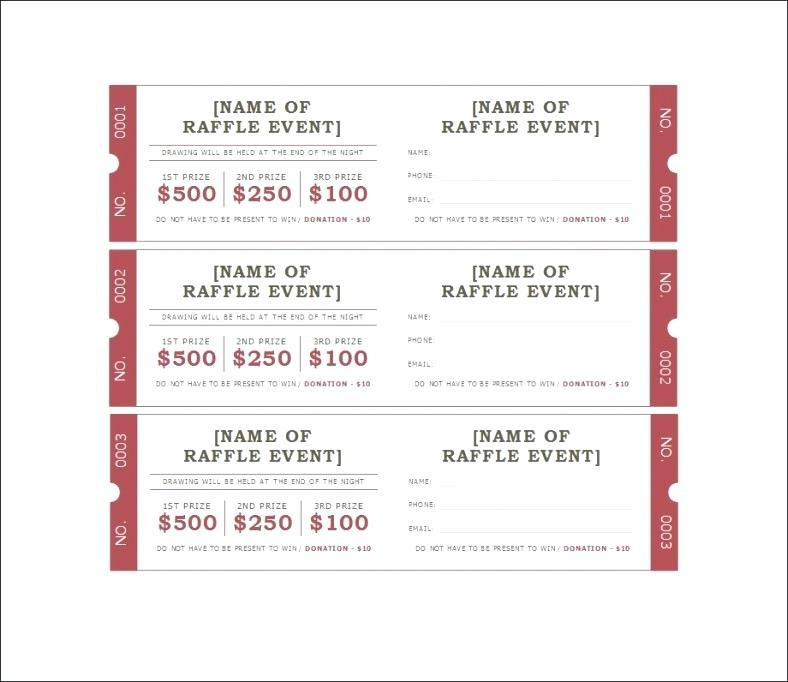 Free Church Event Ticket Template