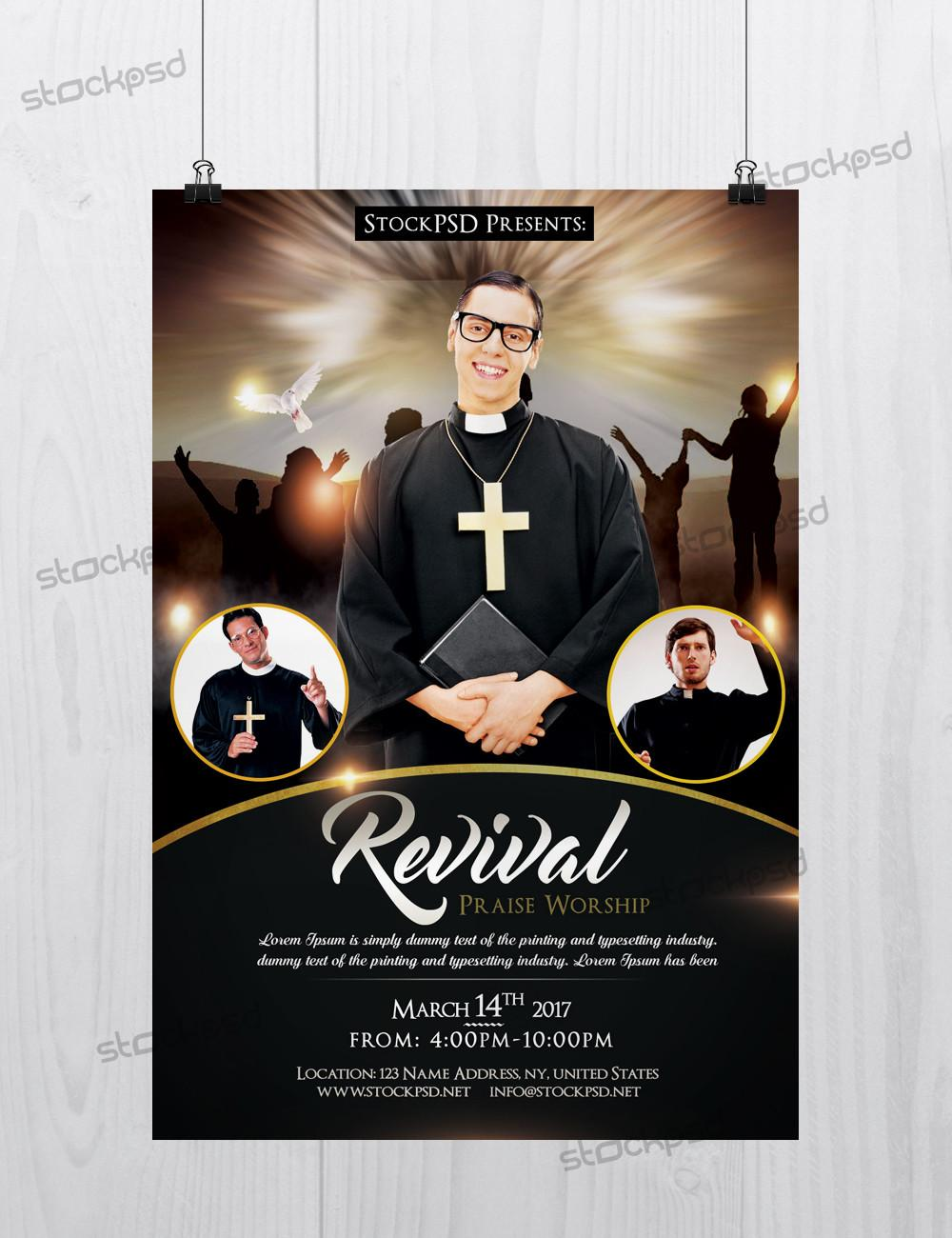 Free Church Flyers Templates
