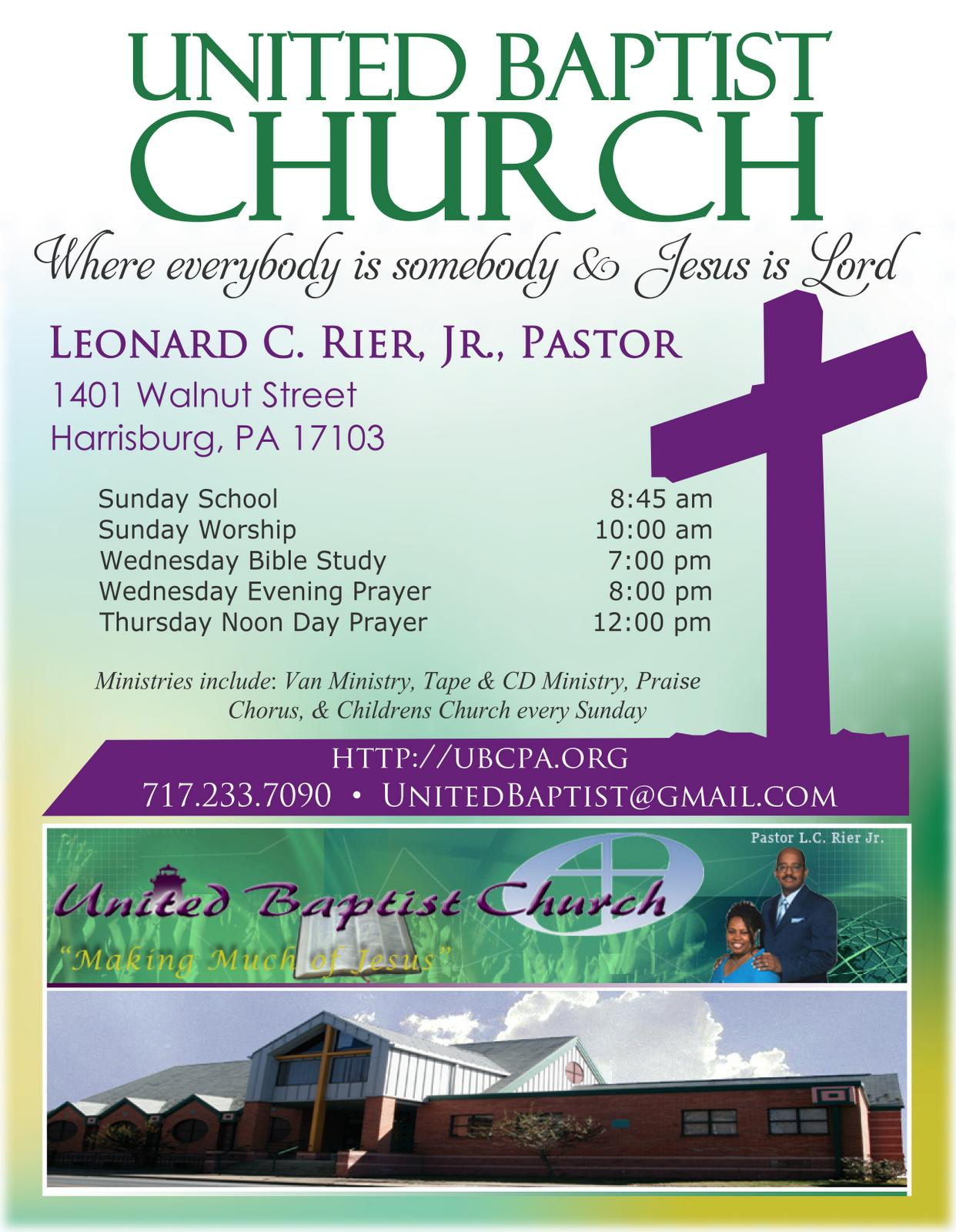 Free Church Invitation Flyer Templates