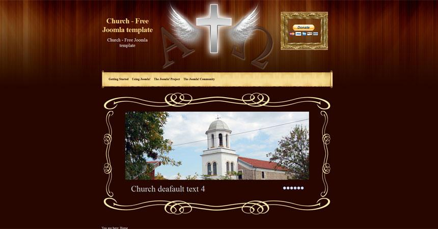 Free Church Joomla 3.0 Templates