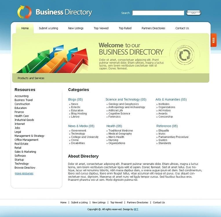 Free Church Picture Directory Template