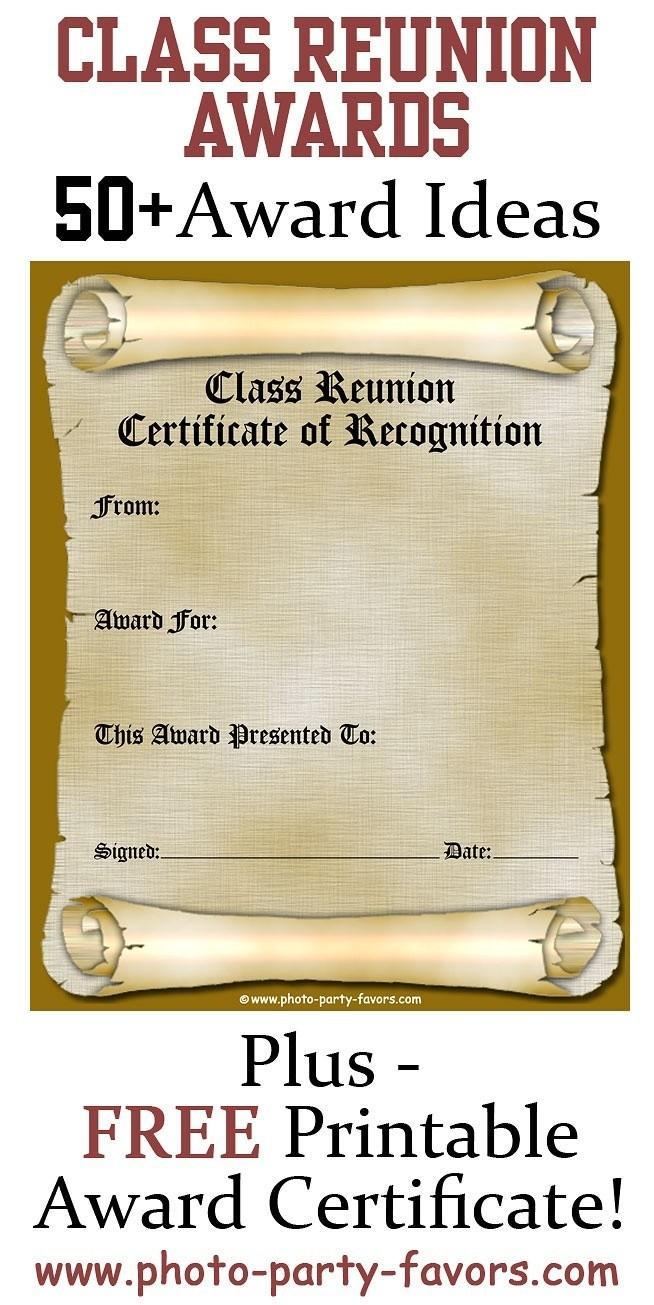 Free Class Reunion Invitation Templates
