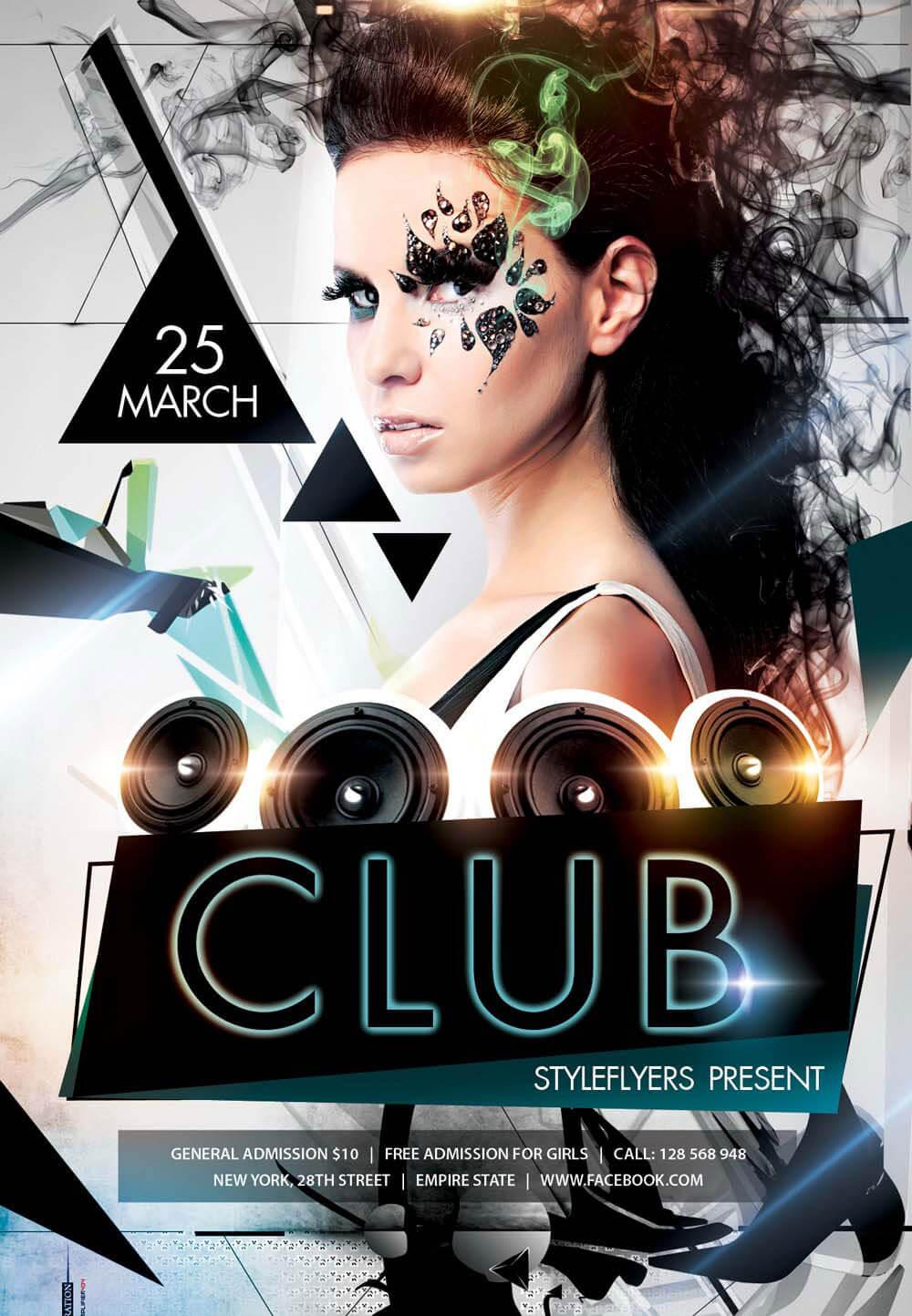 Free Club Flyers Templates