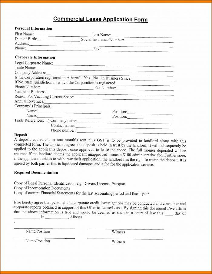 Free Commercial Lease Agreement Template Download Nz