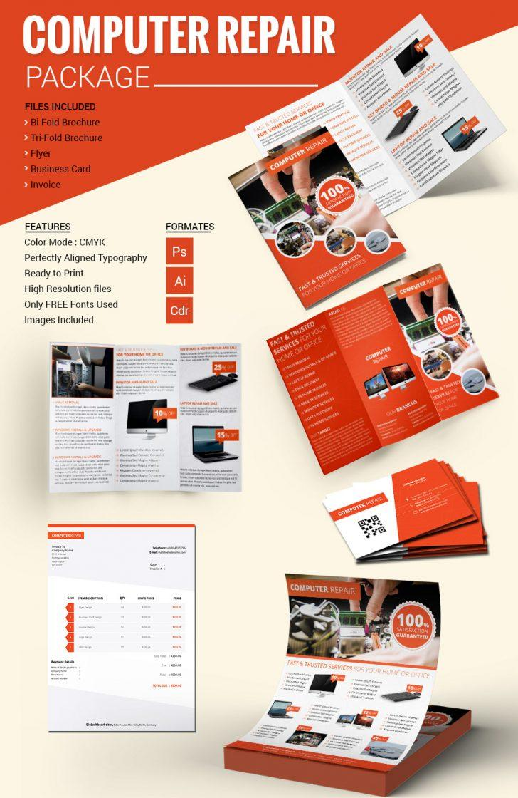 Free Computer Repair Flyer Template Word