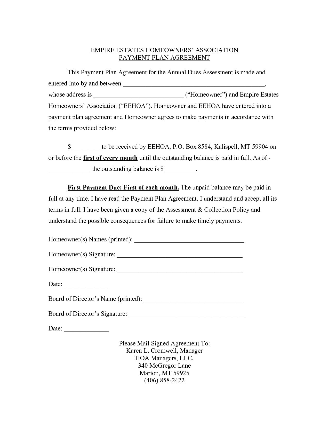 Free Contract Agreement Template Word