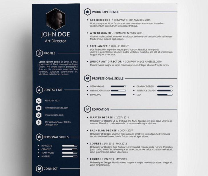Free Cool Resume Templates Microsoft Word