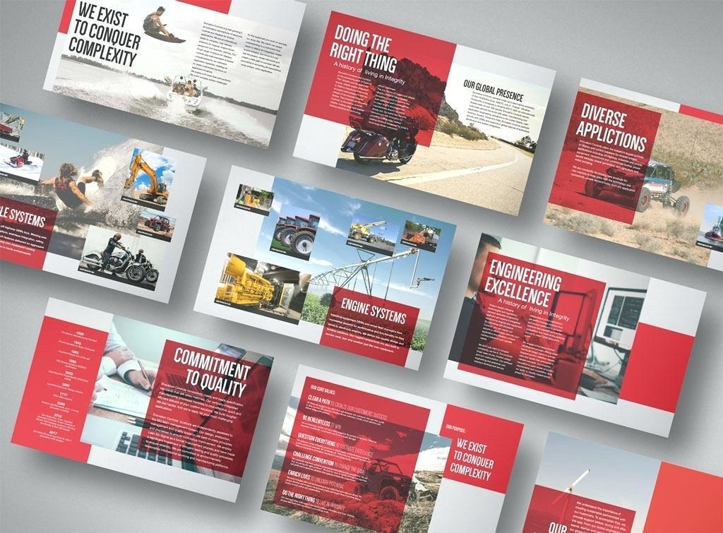 Free Corporate Brochure Template Indesign