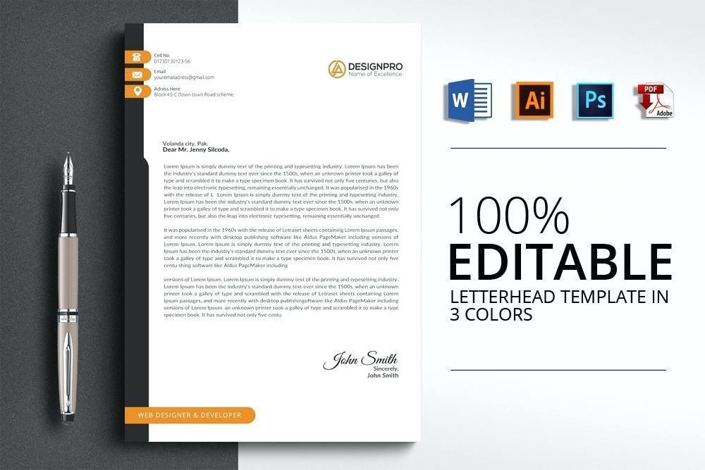Free Corporate Letterhead Design Templates