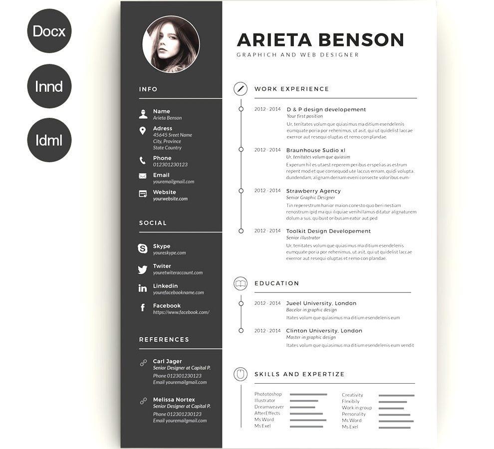 Free Creative Resume Templates Australia