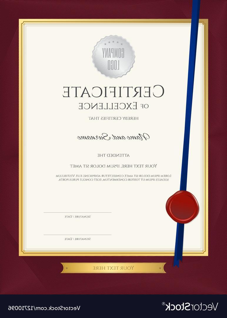 Free Customer Service Award Certificate Templates