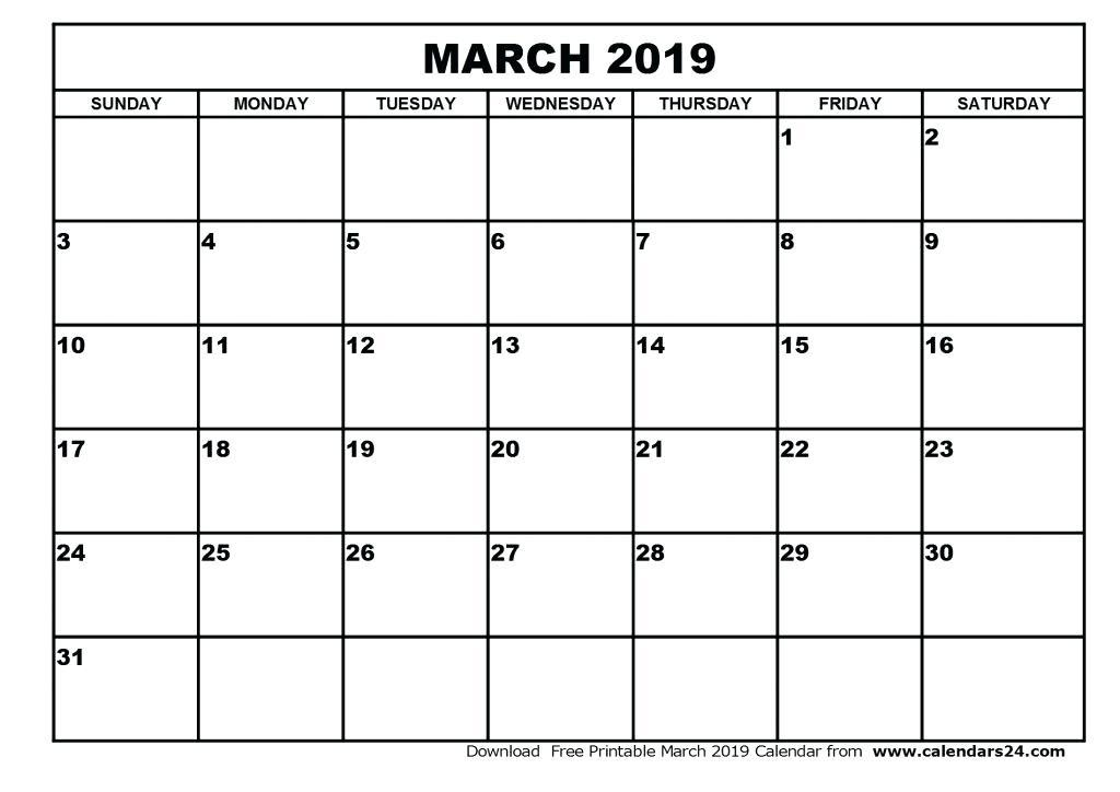 Free Customizable Calendar Templates