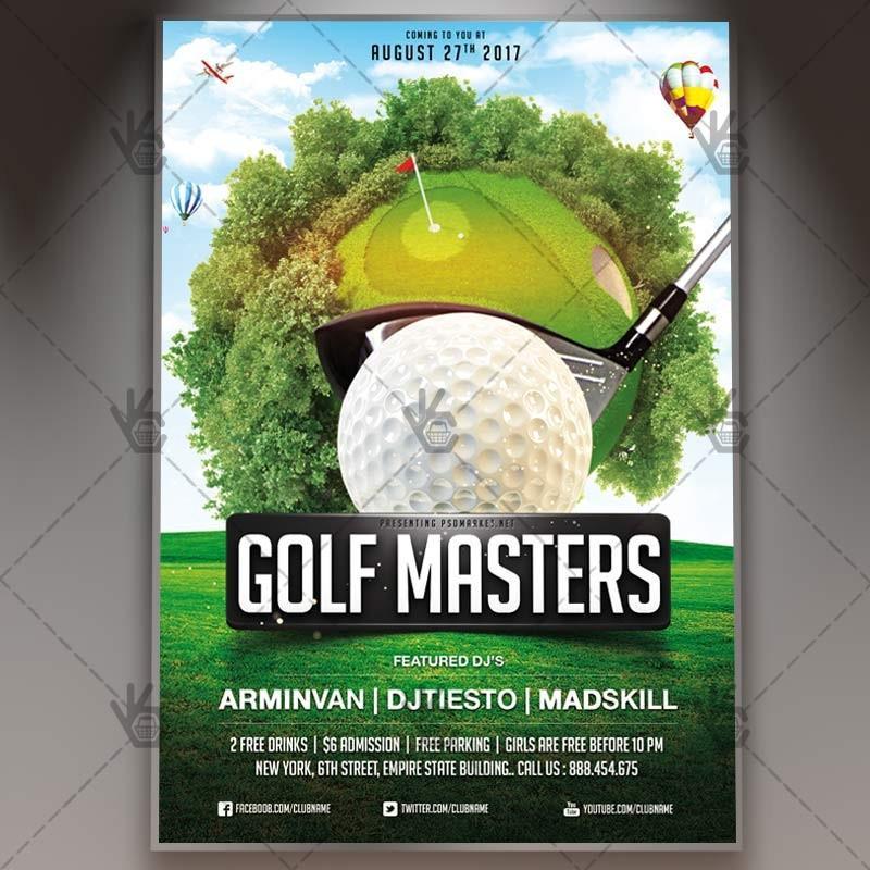 Free Customizable Golf Flyer Template