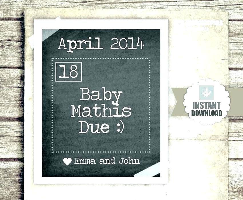 Free Digital Pregnancy Announcement Templates