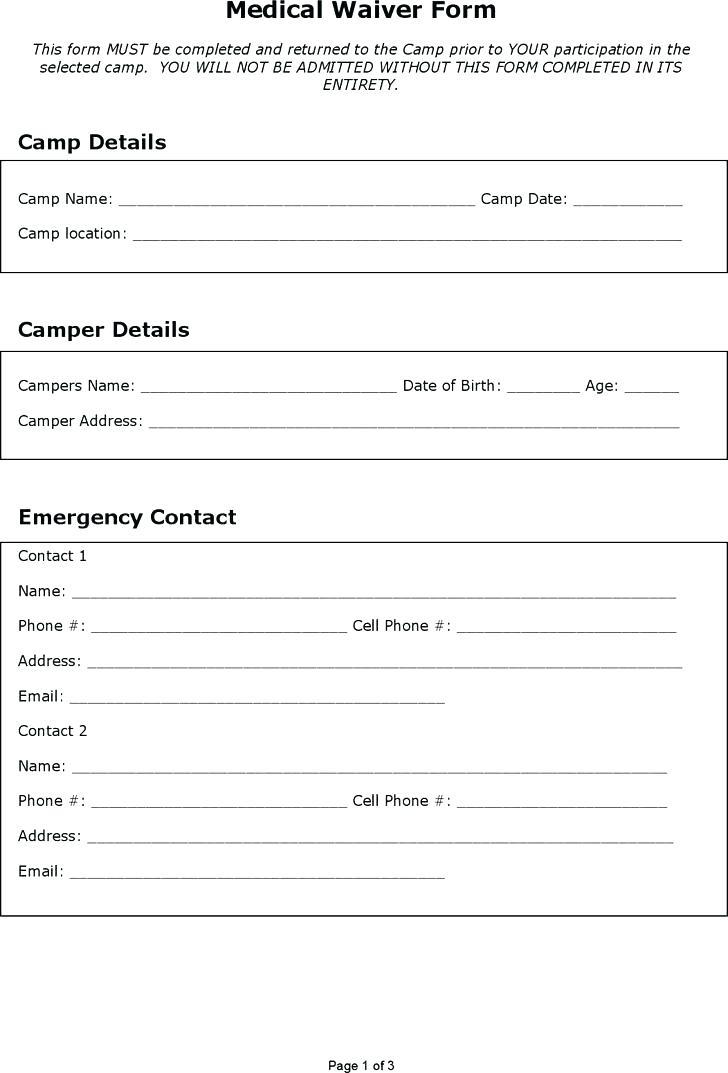 Free Disclaimer Form Templates